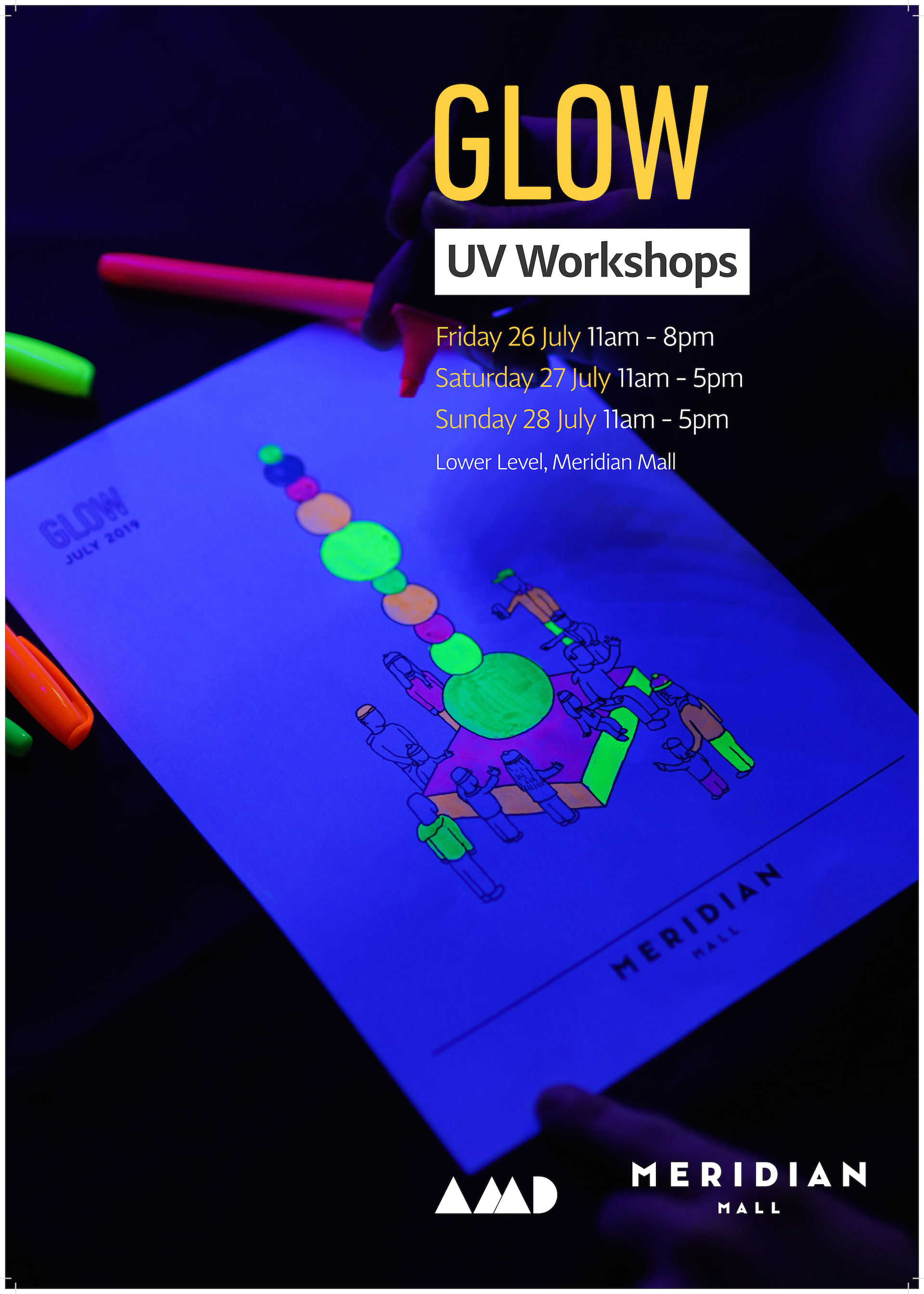 Glow UV Workshops