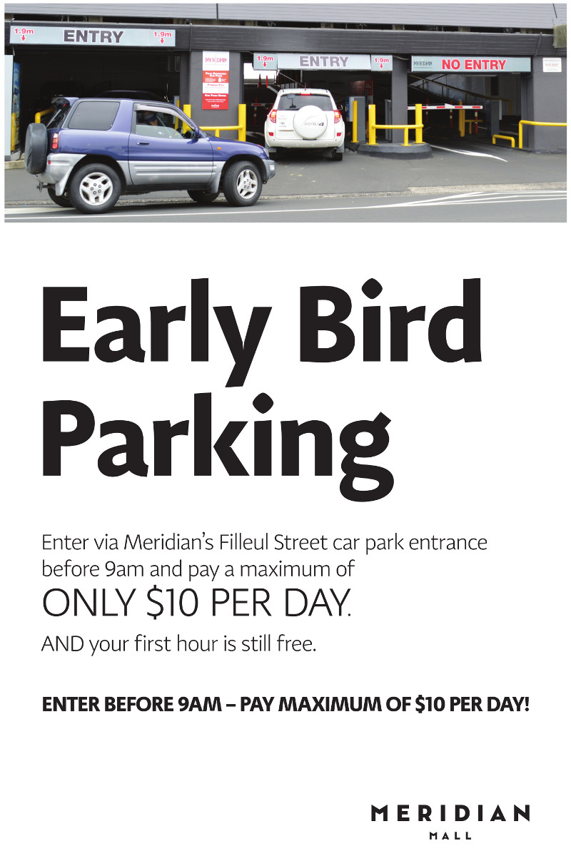 Tap'n Go & Early Bird Parking