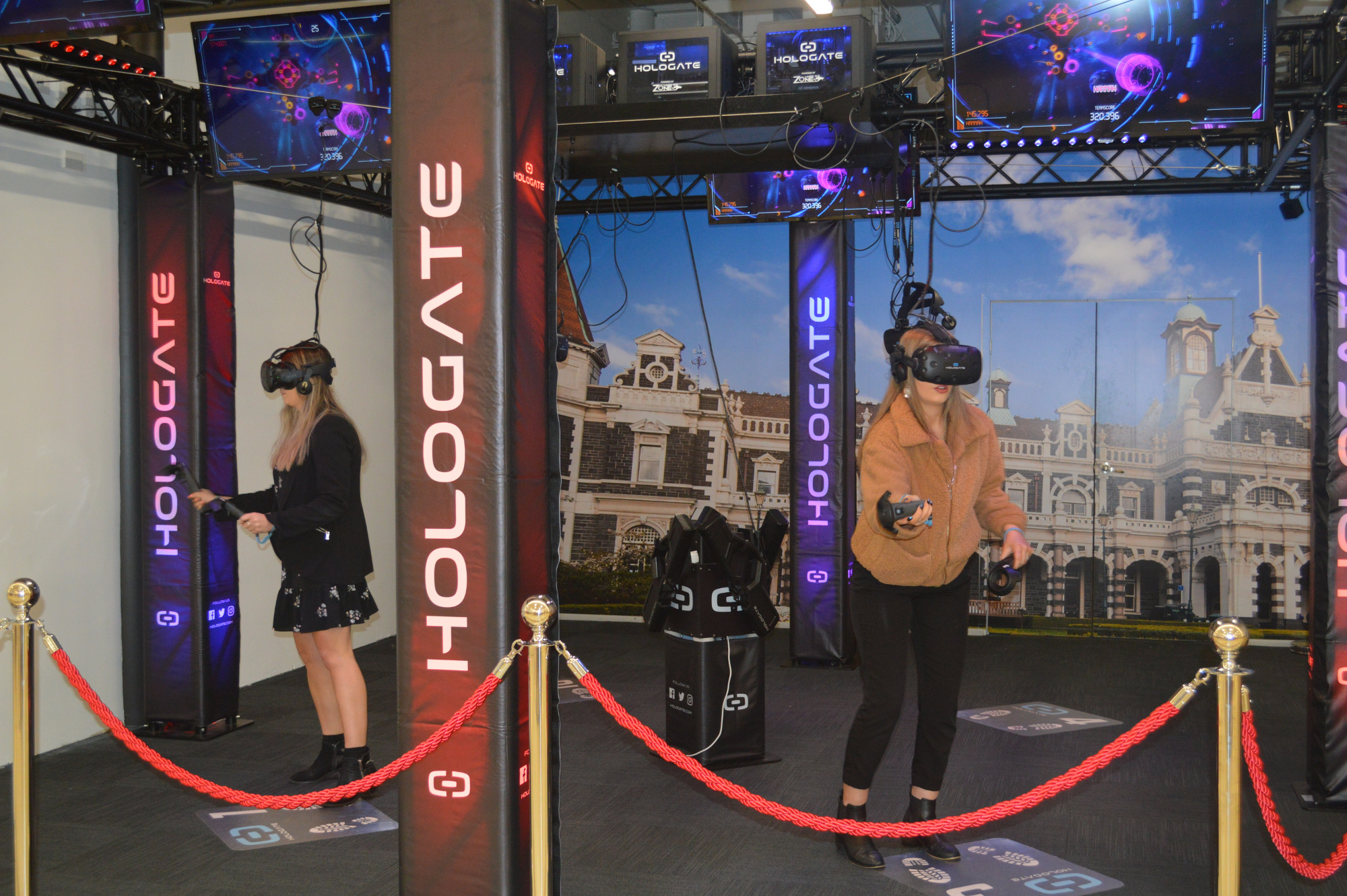Step inside our brand new Virtual Reality Arena