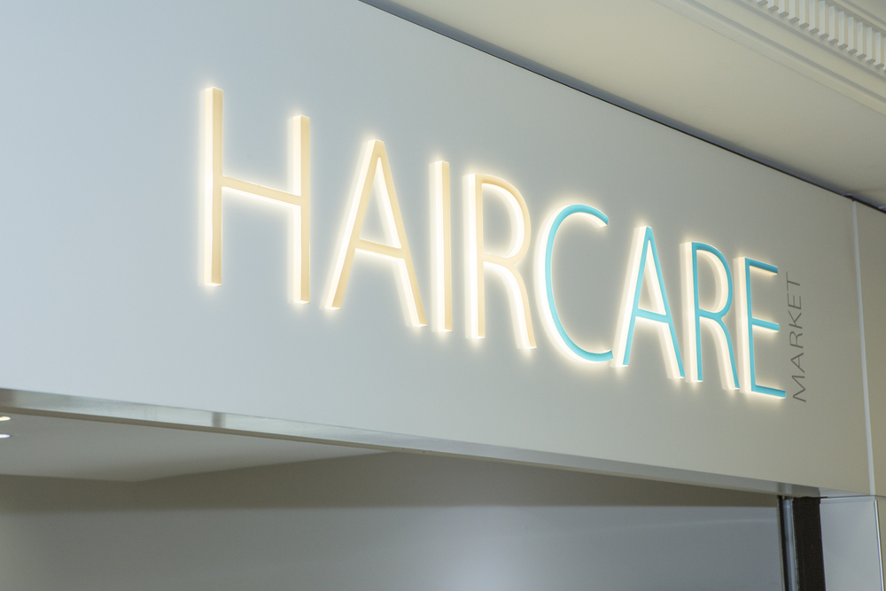 Haircare+market+sign