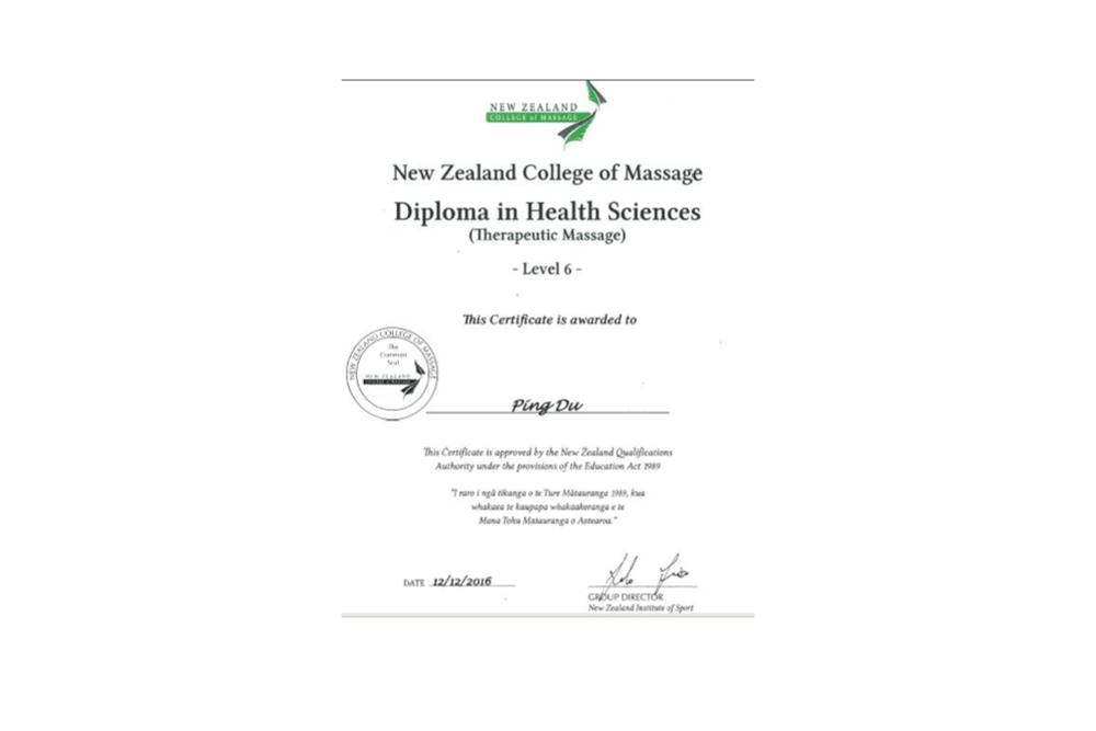 certificate slider